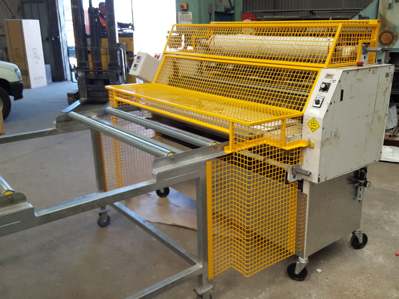 Laminator with G&G Designed Safety Guarding