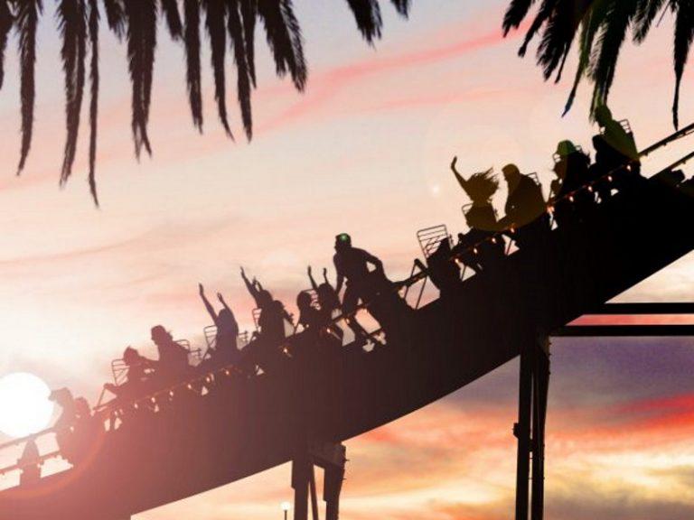 Luna Park Scenic Roller Coaster