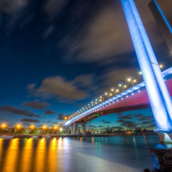 Bolte Bridge Docklands Observation wheel
