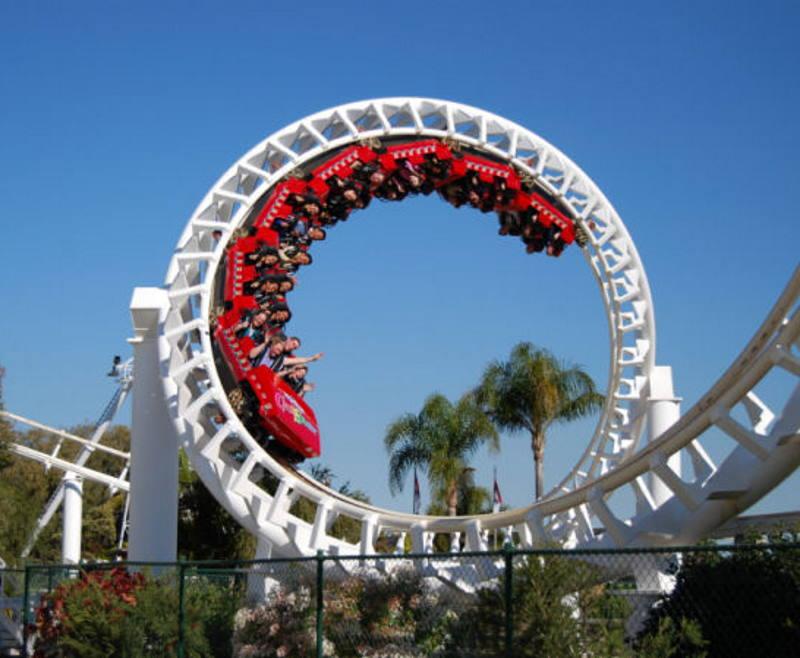 Luna Park Roller Coaster