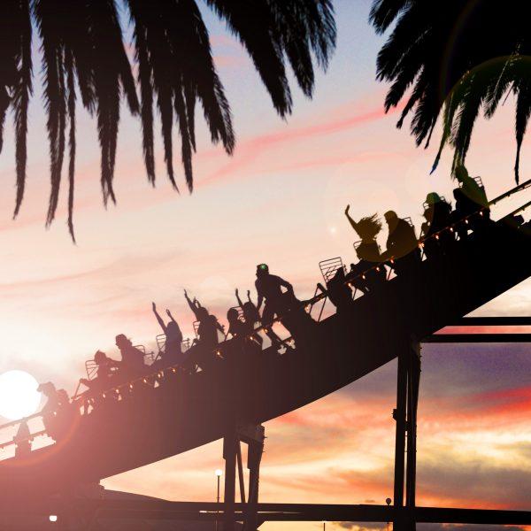 Scenic Rollercoaster Ride Luna Park